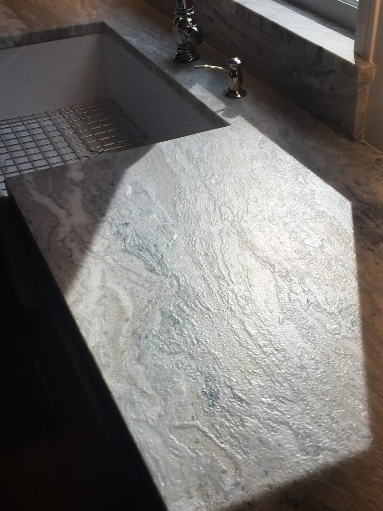 Granite Countertop Kitchen Remodel