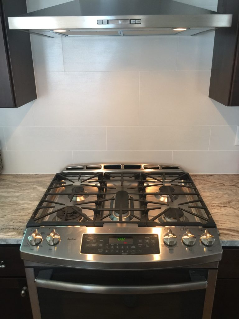 GE Profile Stainless Steel Stove