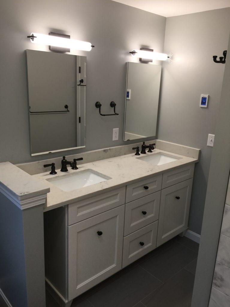 Double Vanity Bath Remodel